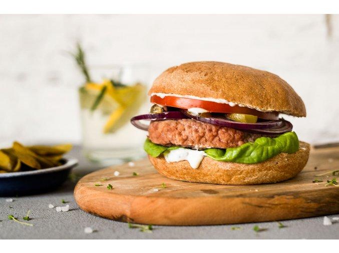 krůtí burger s bulkou