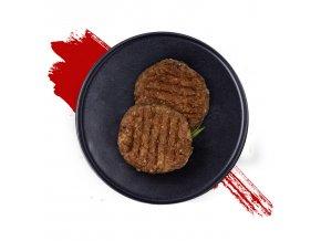 hovězí burger s dipem