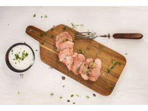 krůtí maso s dipem