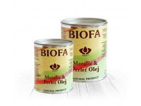 Metalic & Perleť Olej Biofa