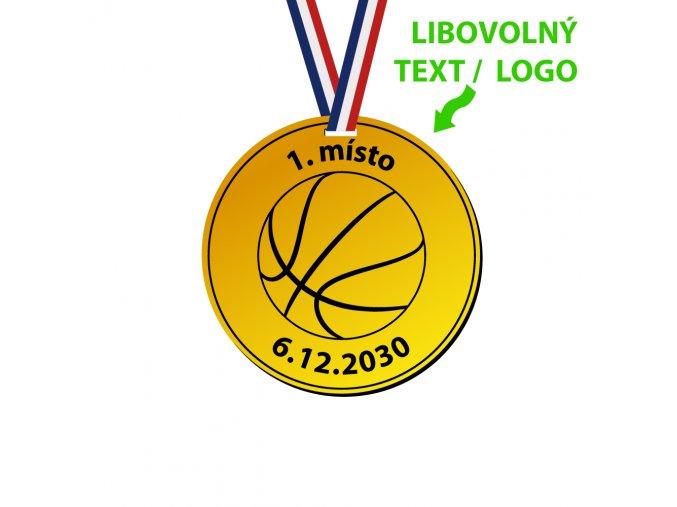 3417 8 medaile z plastu