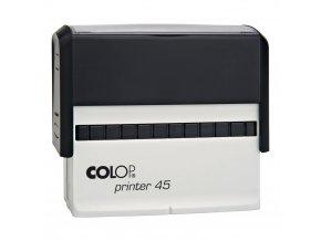 Samonamáčecí razítko COLOP Printer 45 (BARVA INKOUSTU ŽLUTÁ)