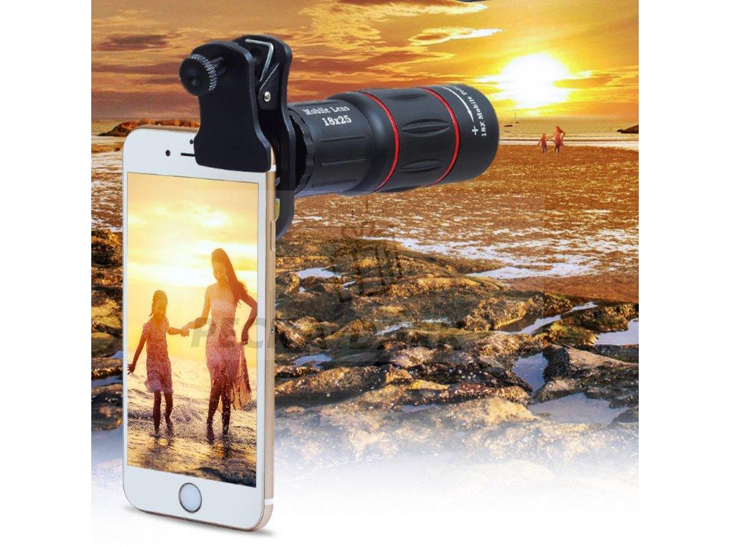 Exclusive™ - Mini Optic RX10 (80% SLEVA) Objektiv na mobil a tablet - monokulár 8x ZOOM