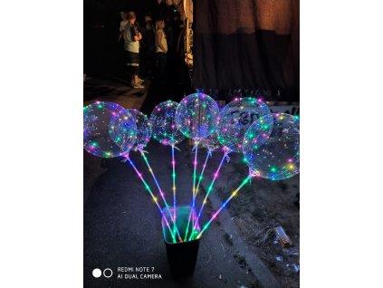 LED svíticí balónek (3 kusy)