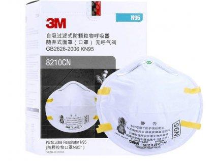 Respirátor - 3M - 8210 -KN95 (FFP2)  + Doprava ZDARMA od 500 Kč