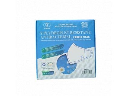 NANO SILVER rouška - textilní, 3 vrstvá, antibakteriální vel. M  + Doprava ZDARMA od 500 Kč přes Zásilkovnu!!!