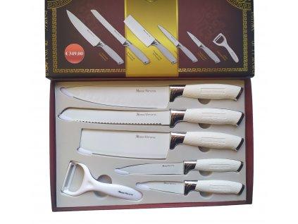 Pecka nože - bílé se sekáčkem