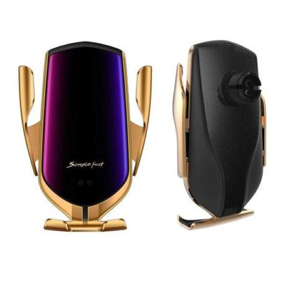 Smart Sensor Luxusní držák bezdrátového nabíjení - PREMIUM Barva: Zlatá