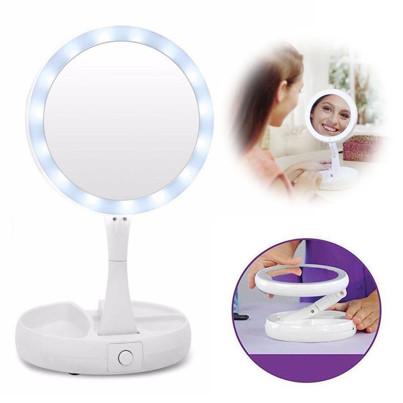 LED kosmetické zvětšovací zrcátko