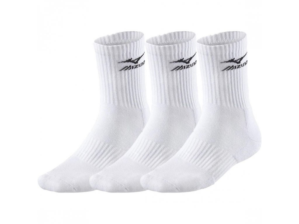 ponožky 3 p biele