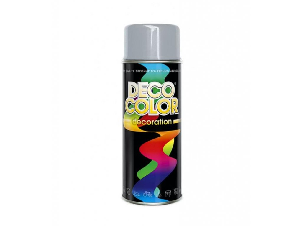 spray deco color 400ml 7001 sivyz 1