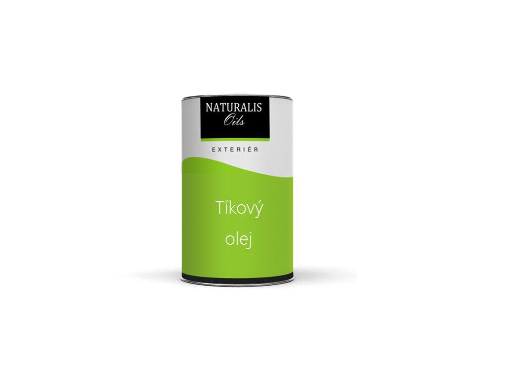 Olej Naturalis tíkový bezfarebný 2,5l