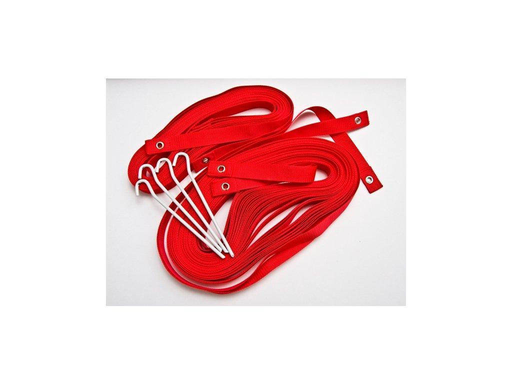 kv rezac ciary na plazovy volejbal rekreacne cervene 3cm 1267
