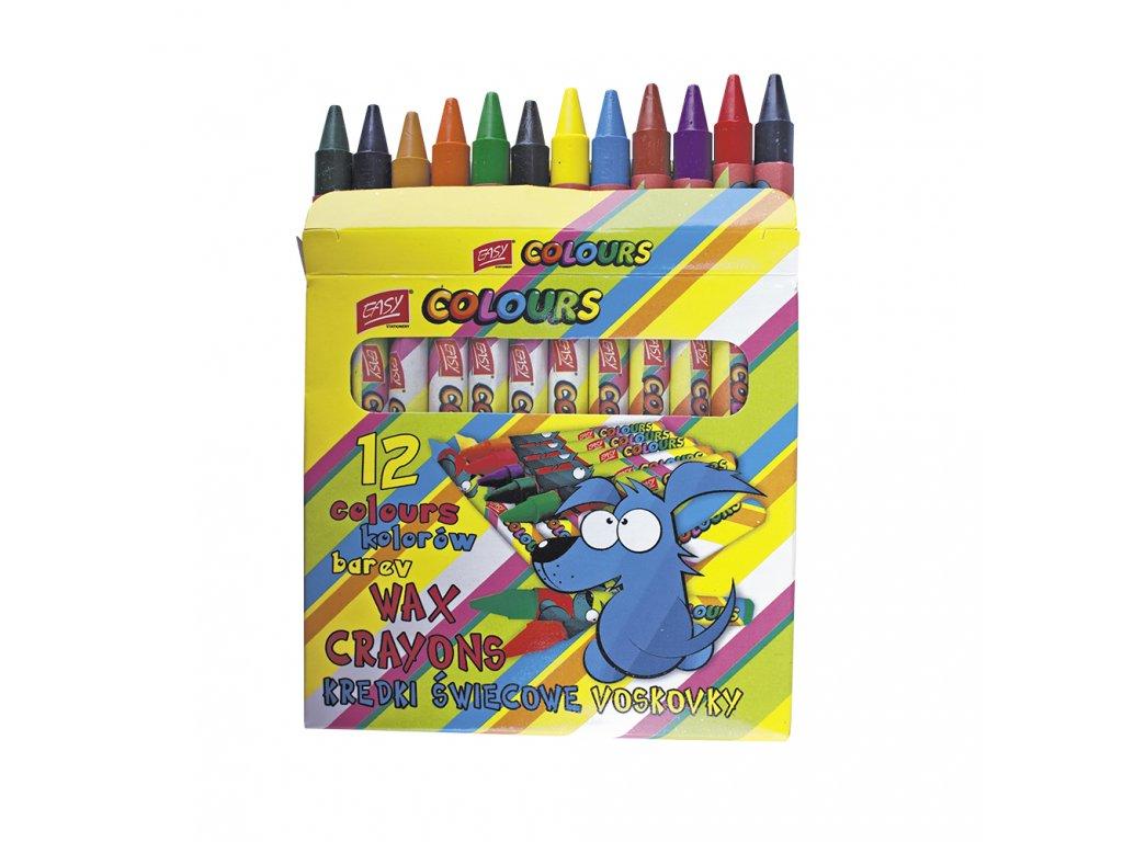 voskovky mix 18 barev sada ies288075