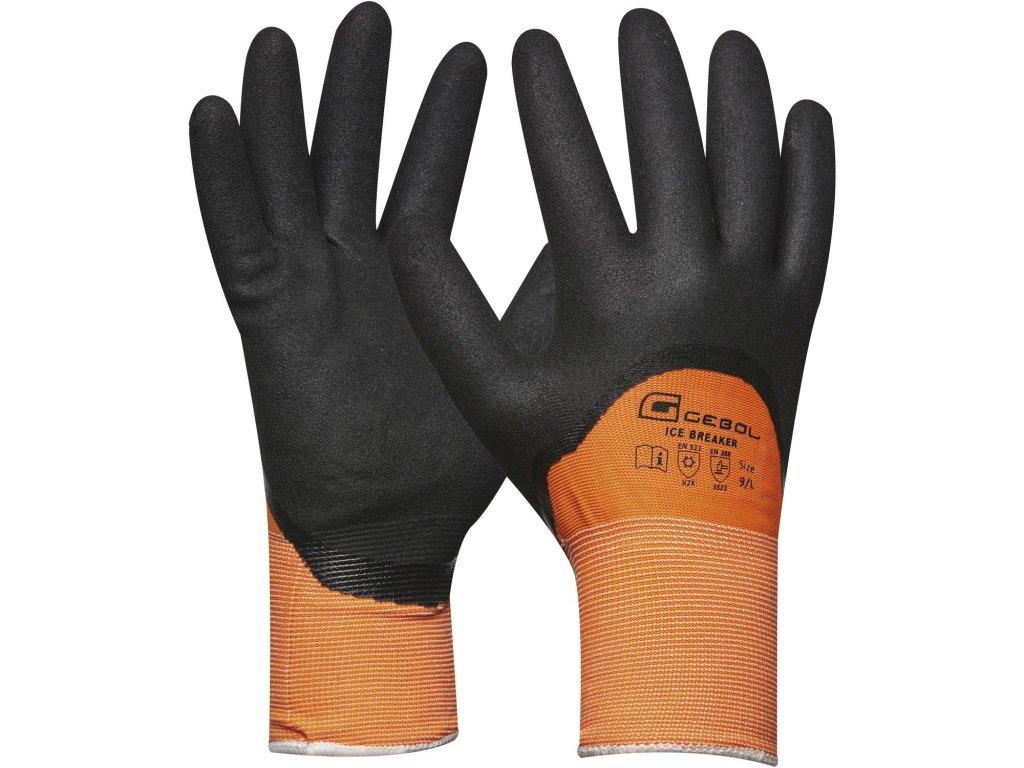 gebol zimni pracovni rukavice ice breaker en388 en511 kategorie ii vel 9 ie383651
