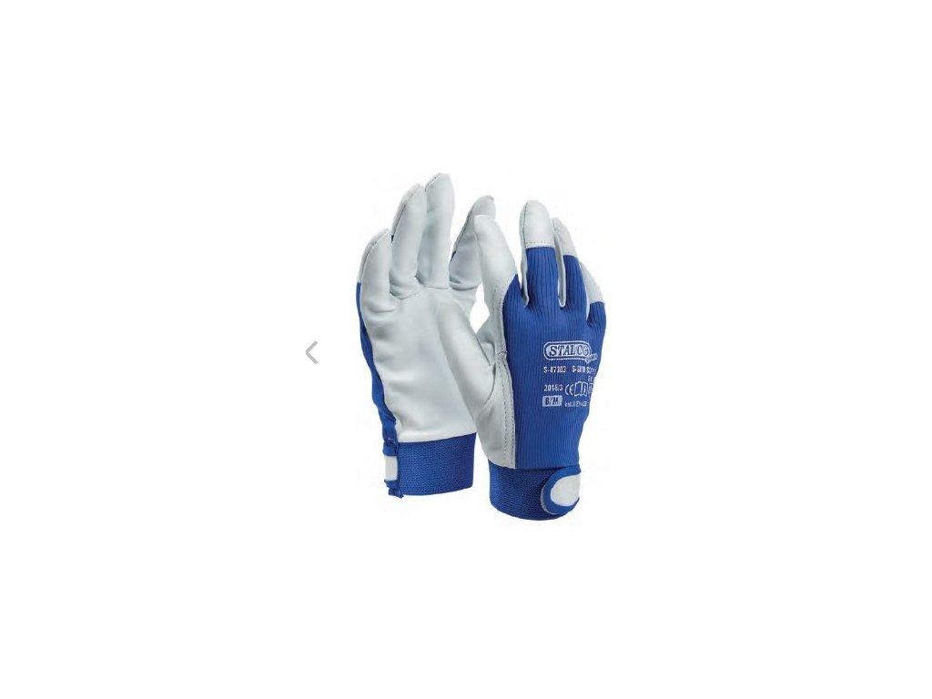 rukavice z kozi kuze skin soft b vel 9