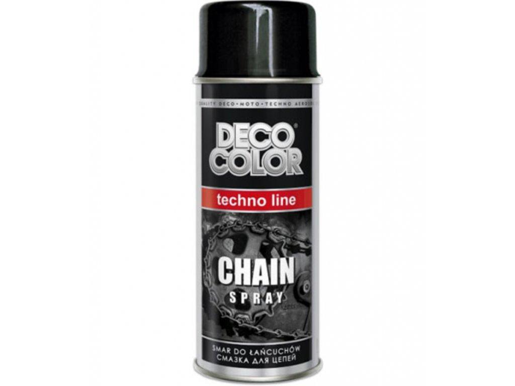 deco color chain spray 400ml sprej na retaze a loziskaz 1