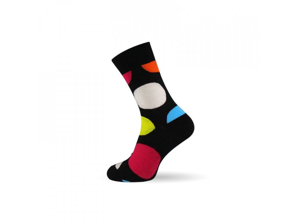 Veselé Ponožky Circles - PECKASTYL.CZ 108d5ccef5