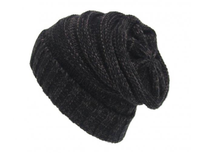 Dámská zimní čepice Iris black