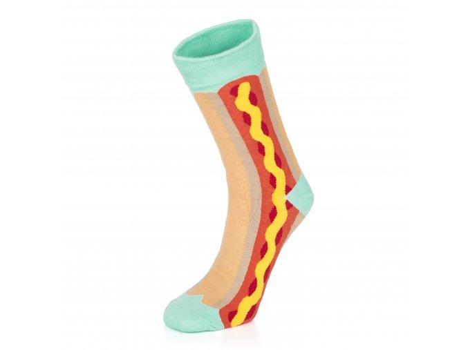 vesele_ponozky_hot_dog