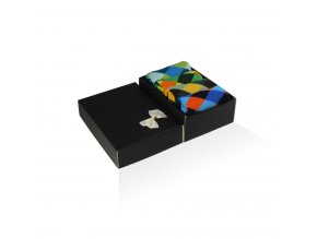 panske barevne ponozky darkova krabicka criss cross