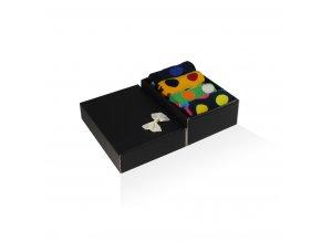damske barevne ponozky darkova krabicka dot II