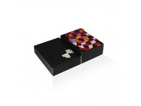 panske barevne ponozky darkova krabicka 3d