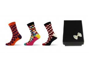 3d ponozky darkova krabicka 1