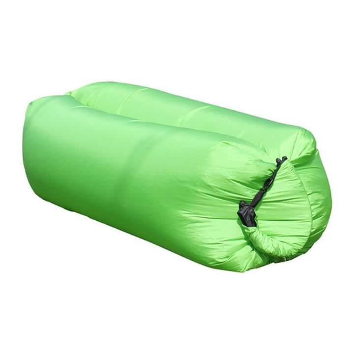 Nafukovací relaxační vak zelený