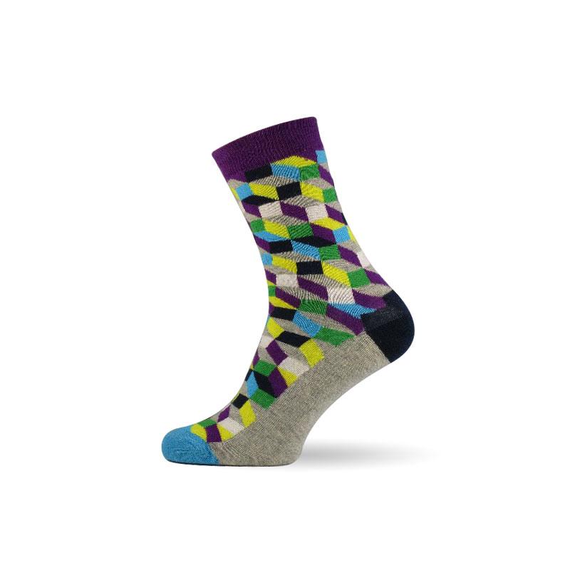 Pánské ponožky 3D grey