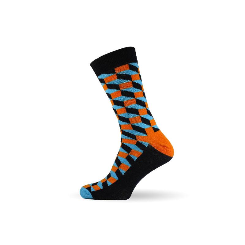 Pánské pánské ponožky 3D blue