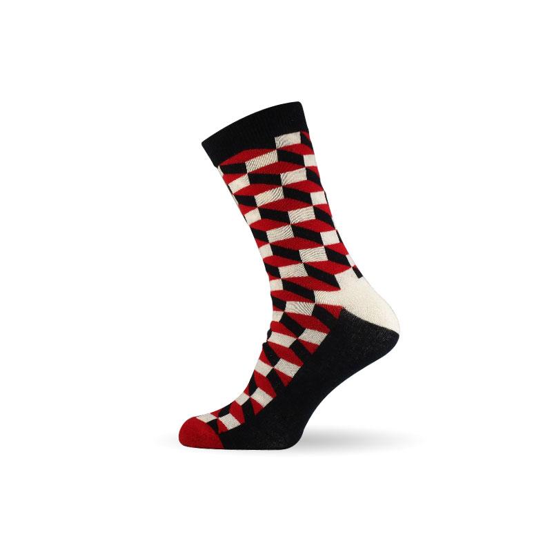 Pánské ponožky 3D red