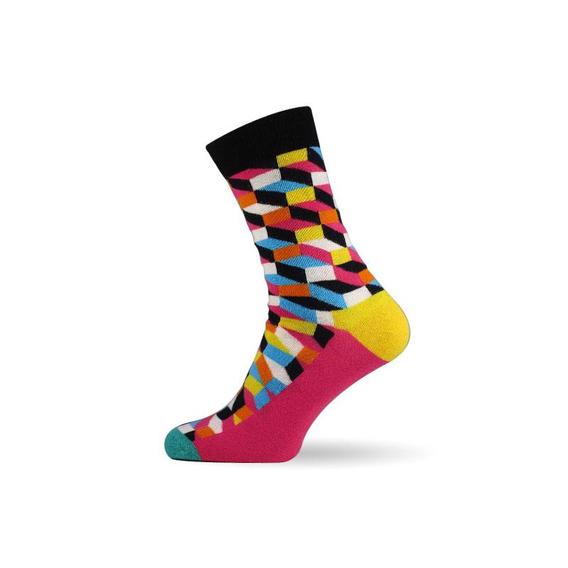 Pánské ponožky 3D pink
