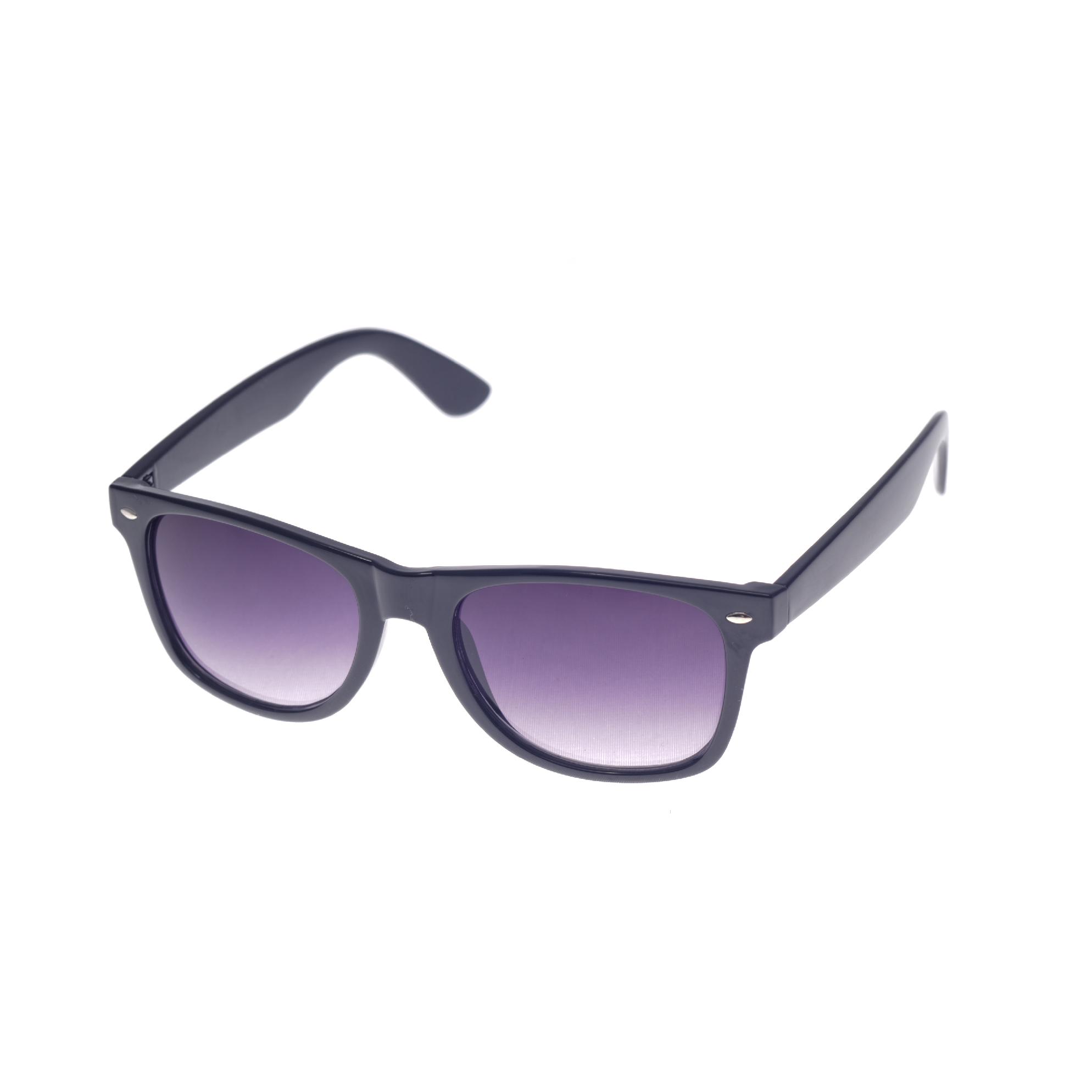 Retro sluneční brýle černé