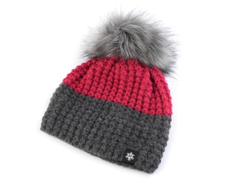 Dámská zimní čepice Bonet Graphite 9260fc55da