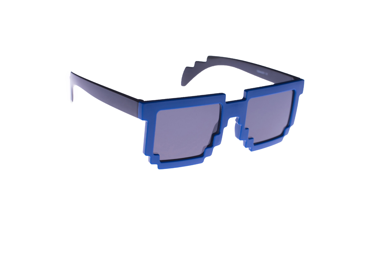 Sluneční brýle pixel blue