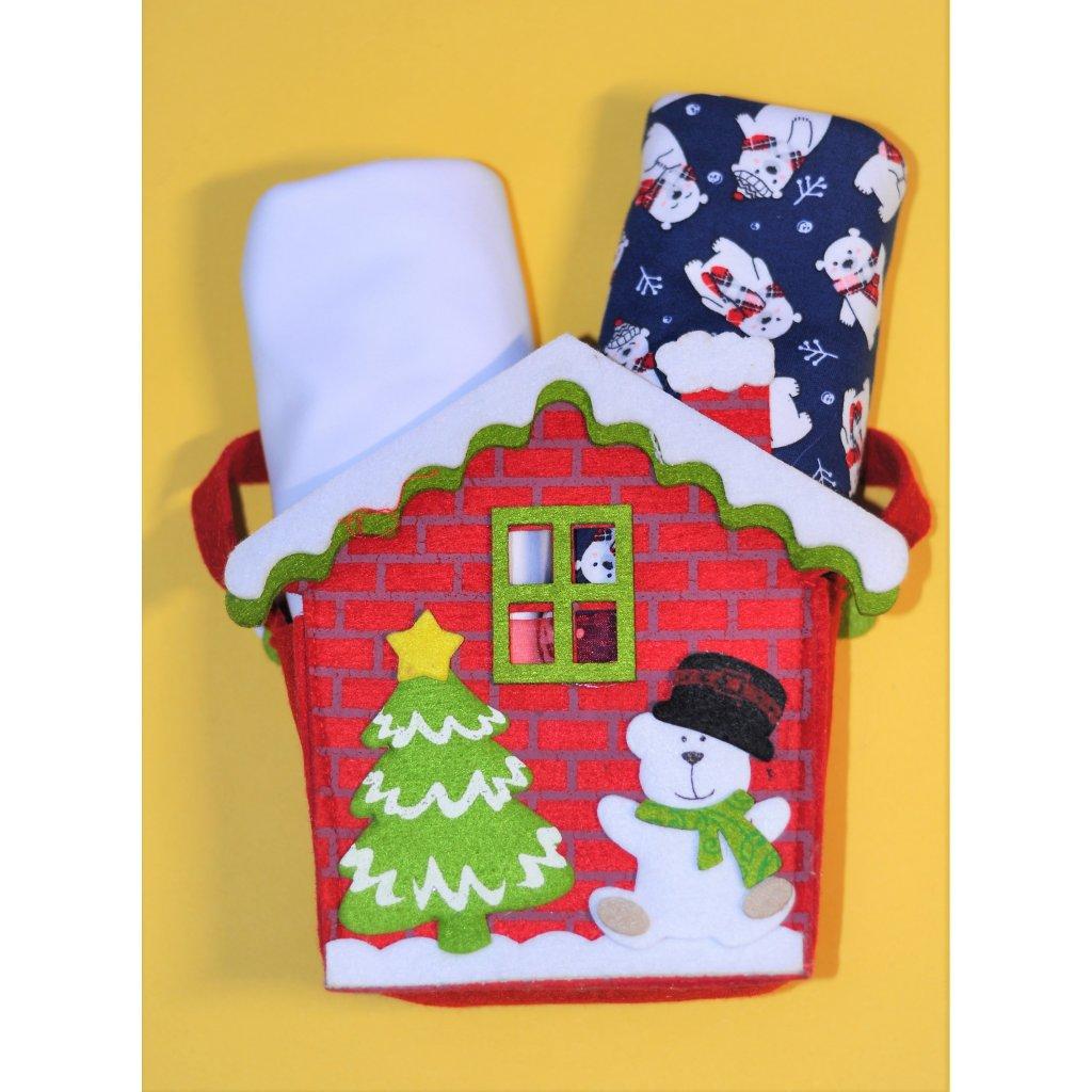 Vánoční látkové pleny Pecorella