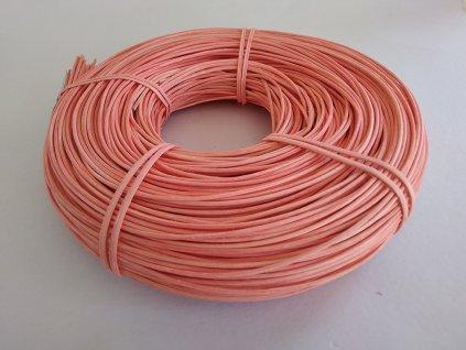 Pedig 2.25 mm ružový svetlý