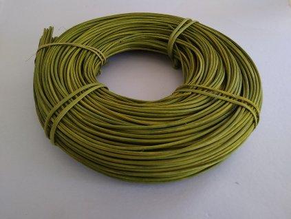 Pedig 2.5 mm zelený olivový