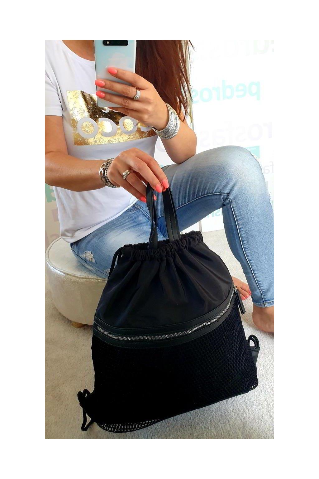 Trendy batoh Buggy černý
