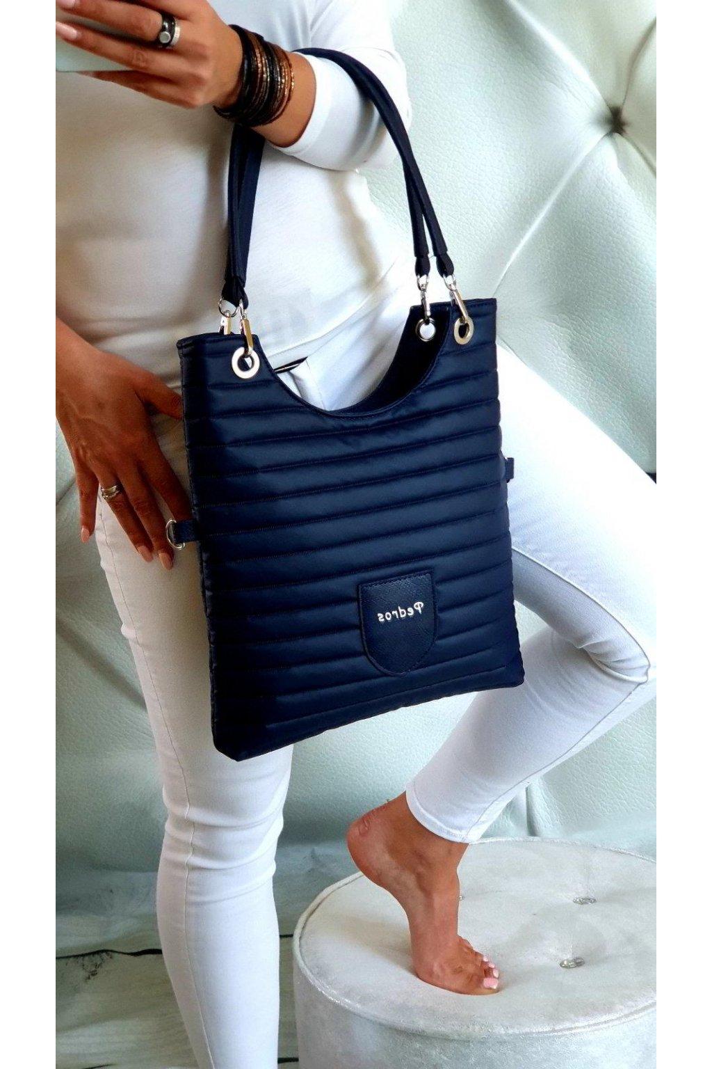 kabelka Maci modrá