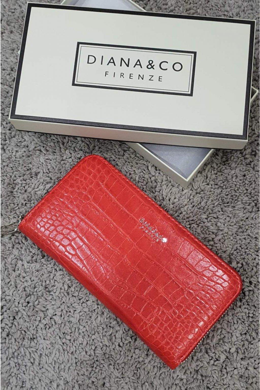 Značková peněženka Diana&co červená