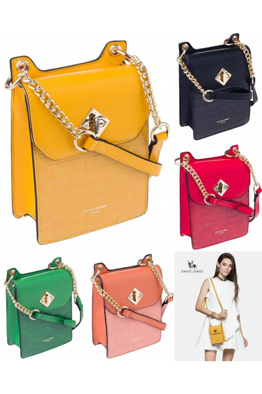 crossbody print letní barevná kabelka