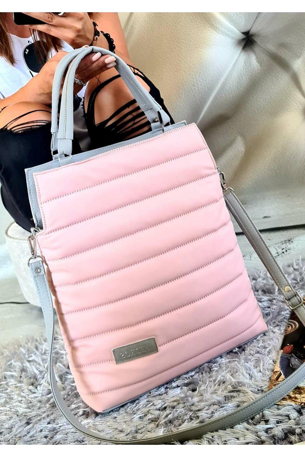 bethy růžová kabelka pedros trendy sportovní