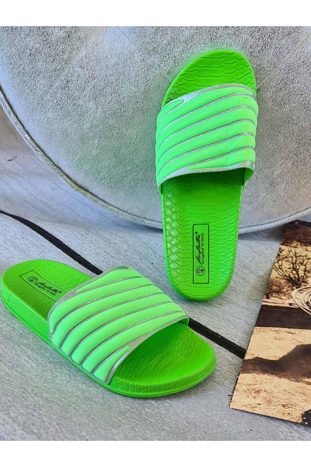 pantofle thalie letní látkové