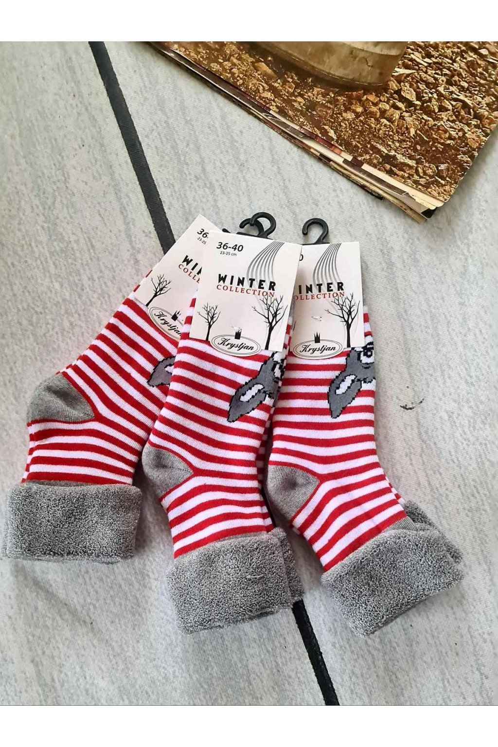 dámské dárkové ponožky W3