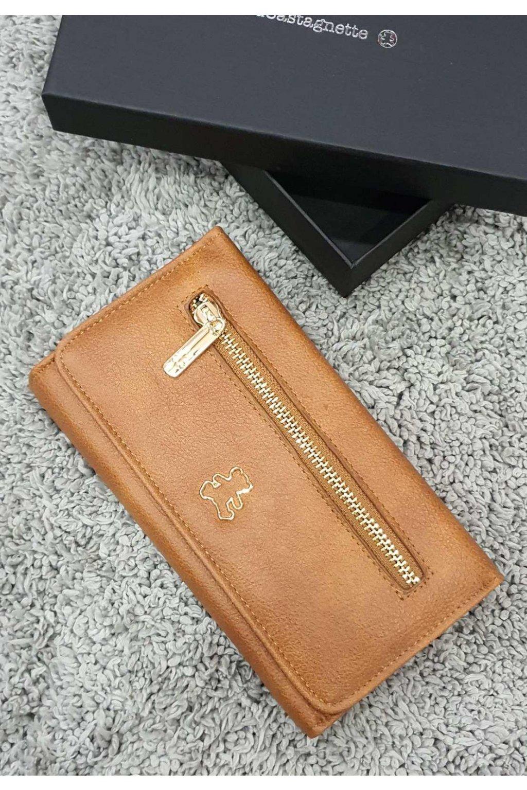 Dámská peněženka Lulu Casta koňaková