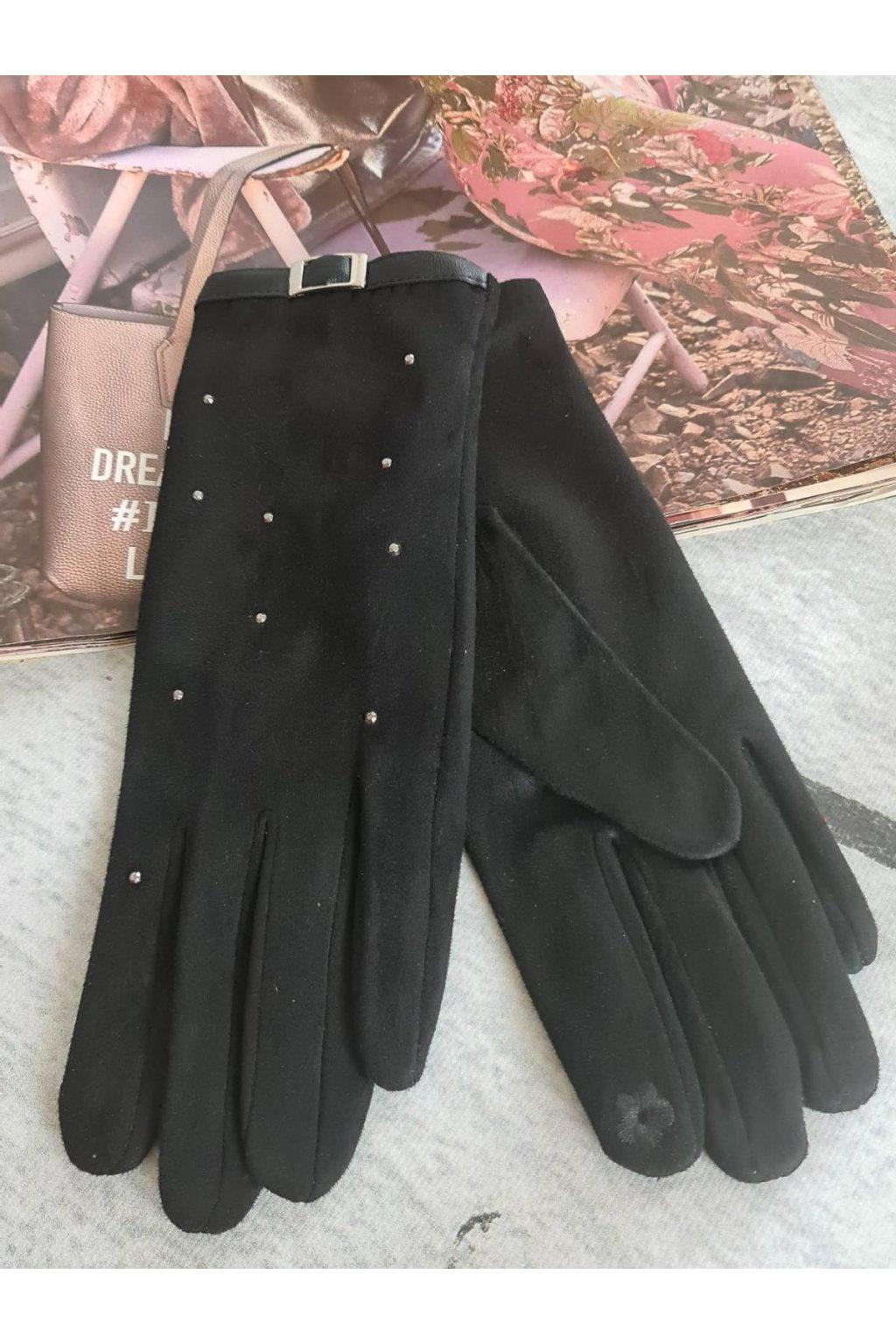 Rukavice dámské dárkové černá