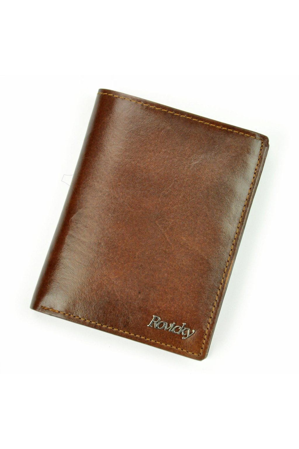 Pánská kožená peněženka koňak