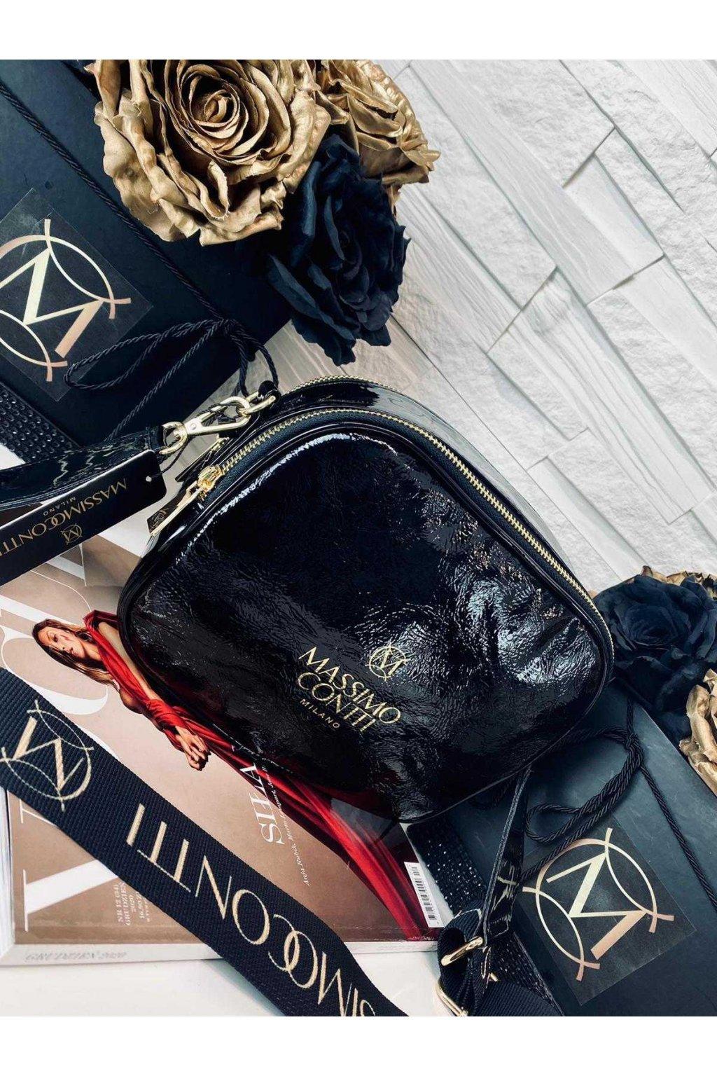 kabelka CROSSBODY massimo contti styl italy eko kůže koženka eleganto